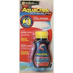AquaChek rot 4 in 1 Brom Tester