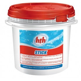 HTH Stick 4,5kg - chlore lent en stick