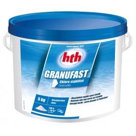 HTH Granufast 5kg - chlore choc granulés