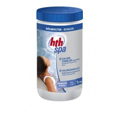 HTH Spa Chlorgranulat Stabilisiert 1,2 kg-Chlor spa