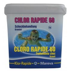 Chlor Schock Granulat -Reva-Klor schnell 60