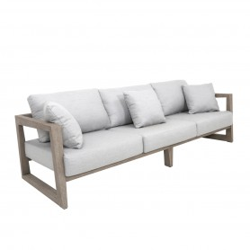 Duratek Teak SKAAL 3-Sitzer Sofa