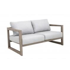 Duratek Teak SKAAL 2-Sitzer klein Sofa