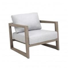 SKAAL niedriger klein Sessel aus Teakholz Duratek