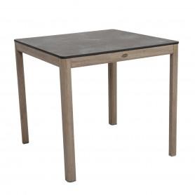 Duratek Teak SKAAL Tisch 80x80cm - HPL Platte