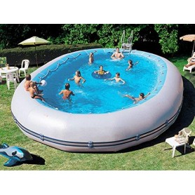 Oberirdisches Schwimmbad Zodiac Original ovale Ovline 3000 dim ext 9,2x6,30 m