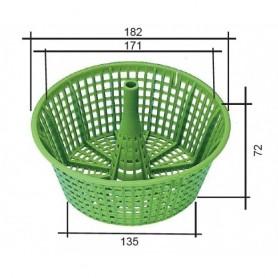 MTS grüner Skimmerkorb V10 / V20 / VS30
