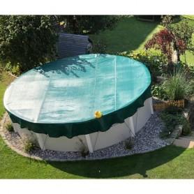 Ovales oberirdisches Pool-Überwinterungsnetz 7,11 x 3,66 m