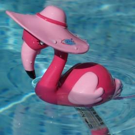 Flamingo pool thermometer