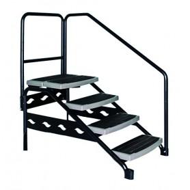 Escalier pour spa de nage
