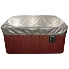 Housse de protection de couverture de spa 2,1x2,1m